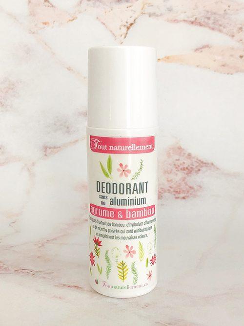 Déodorant naturel sans aluminium pour femme | Produit naturel pour le corps | Tout Naturellement