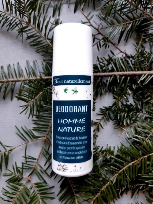 Déodorant naturel sans aluminium pour homme   Produit naturel pour le corps   Tout Naturellement